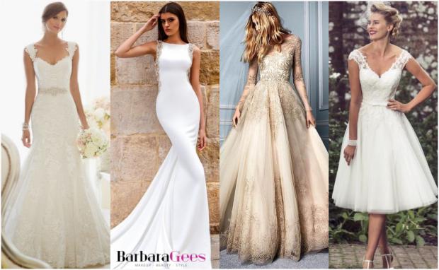que vestido de novia debo usar segun mi cuerpo