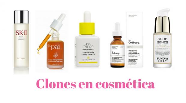 clones en cosmética